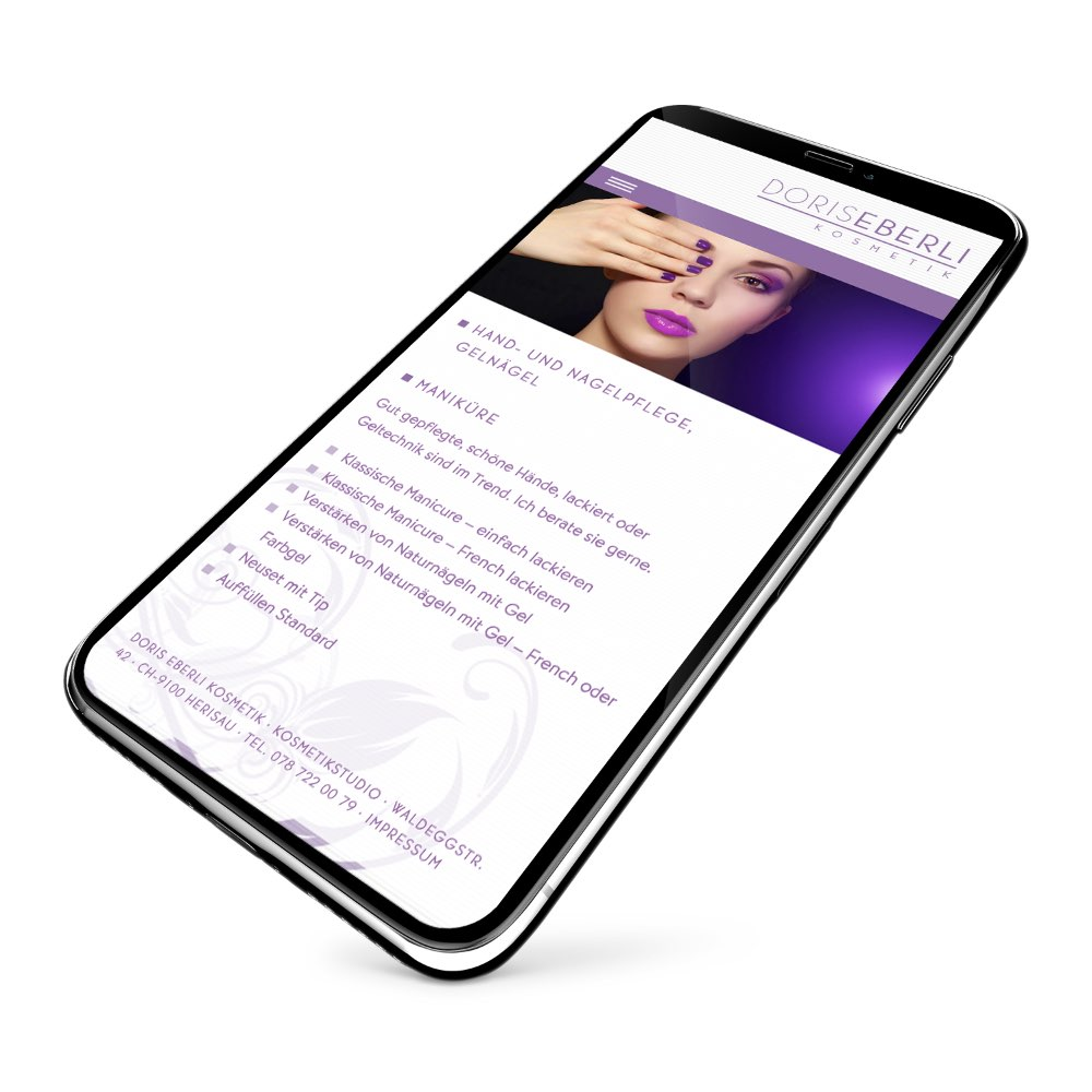 Responsive Webdesign IPhone
