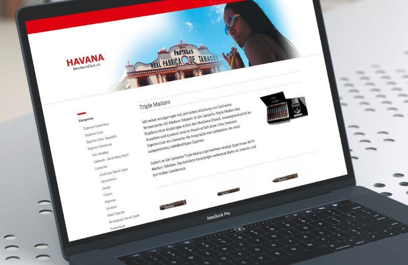 Webdesign Online-Shops