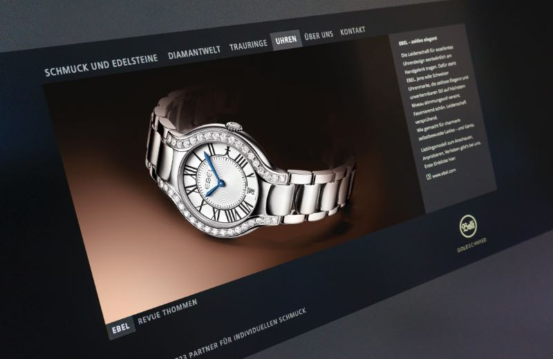 Webdesign Klassische HTML5-Websites