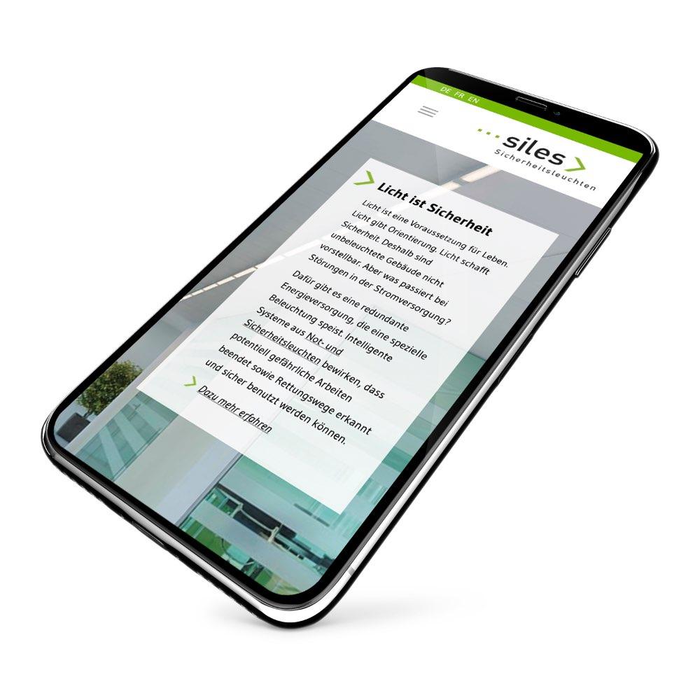 Webdesign Smartphone