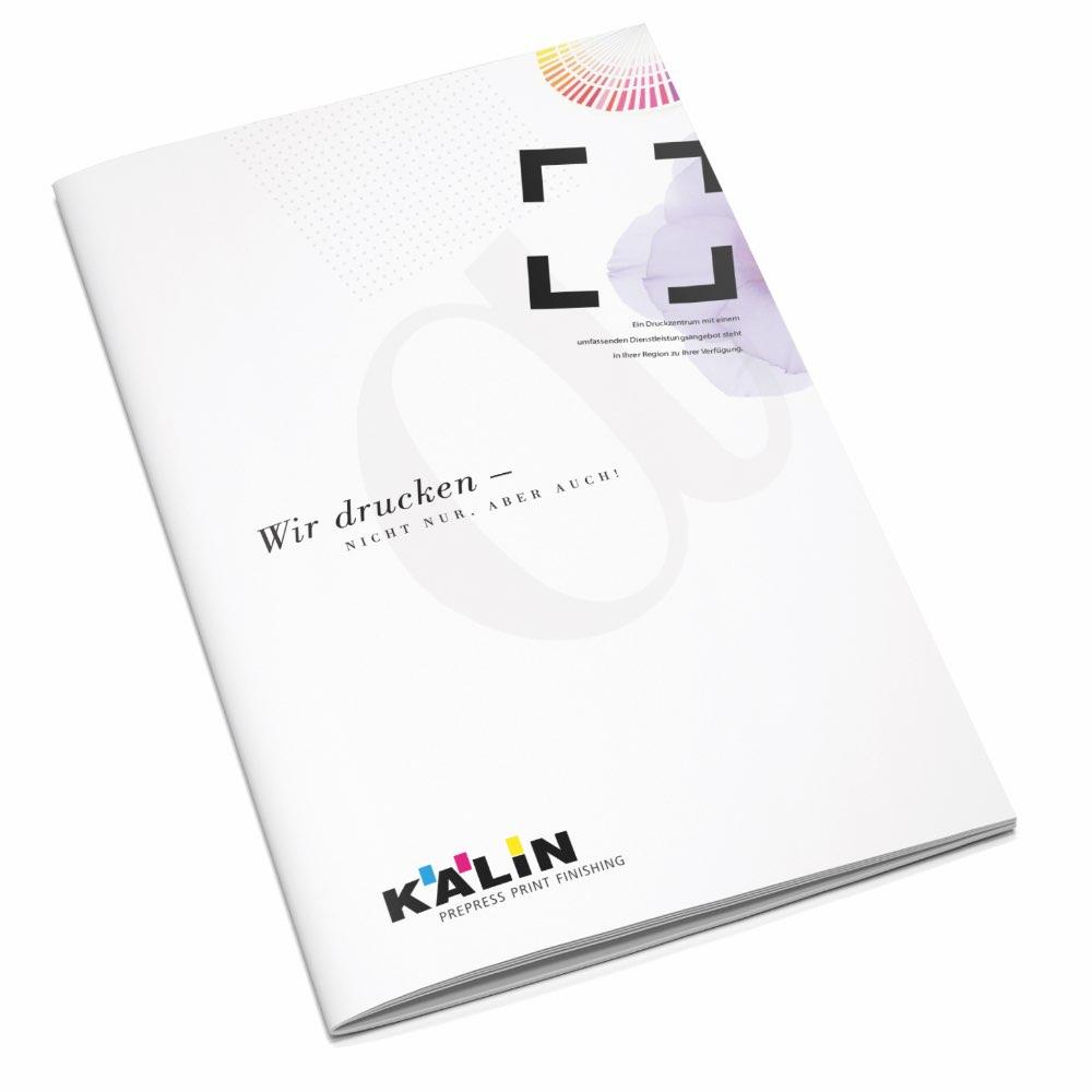 Gestaltung Imagebroschüre