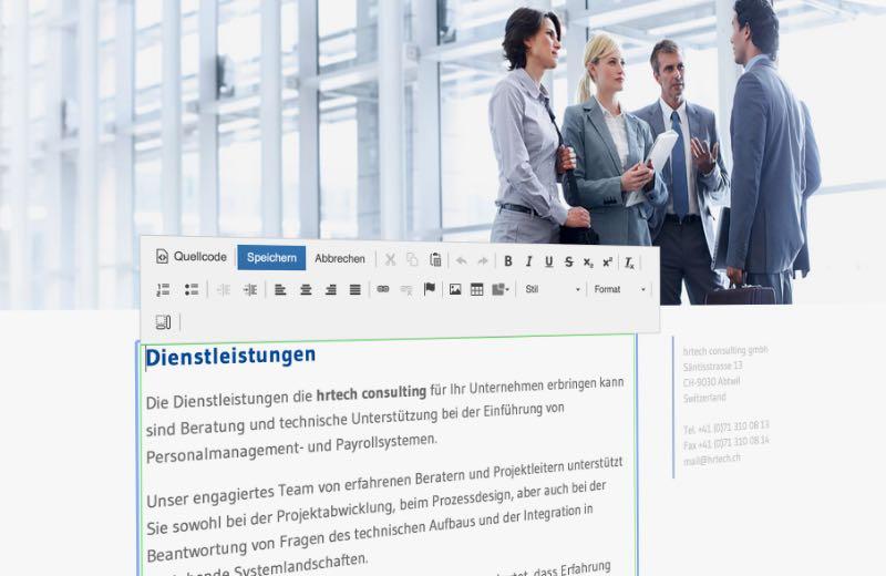 Webagentur Content Management System