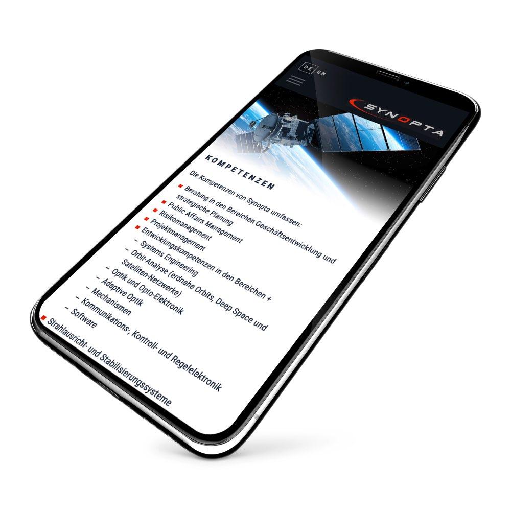 Respponsive Webdesign Smartphone