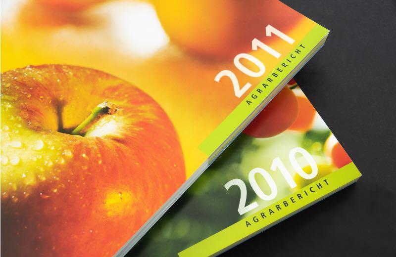 Grafikdesign Broschüren